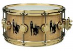 DW DRUM WORKSHOP SIGNATURE MICK FLEETWOOD 14 x 6,5 CURLY MAPLE