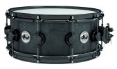 DW DRUM WORKSHOP 14 x 6 BLACK IRON