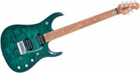 MUSIC MAN JP15 TEAL QUILT MAPLE NO PICKGUARD CHROME
