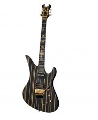 SCHECTER SYNYSTER CUSTOM SUSTAINIAC BLACK