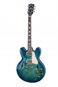 GIBSON ES-335 FIGURED AQUAMARINE 2018