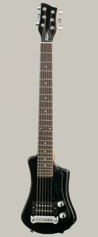 HOFNER CONTEMPORARY SHORTY BLACK