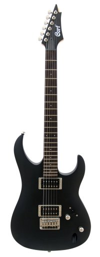 CORT AERO3 BLACK SATIN