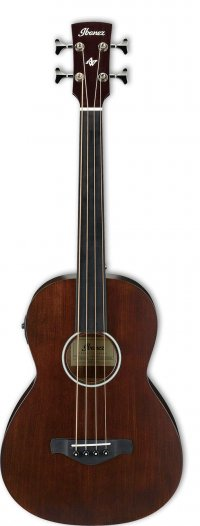 IBANEZ AVNB1FE-BV 25 SCALE FRETLESS BROWN VIOLIN SEMI-GLOSS