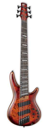 IBANEZ SRMS806-BTT 6-STRING MULTI BROWN TOPAZ BURST