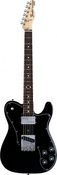 FENDER TELECASTER MEXICAN CLASSIC 72 CUSTOM BLACK
