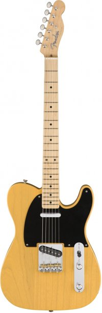 FENDER AMERICAN ORIGINAL 50S TELECASTER MN BUTTERSCOTCH BLOND