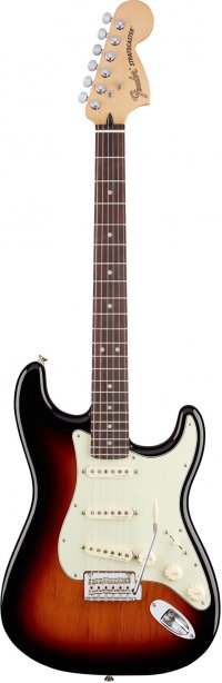 FENDER MEXICAN DELUXE ROADHOUSE STRATOCASTER PF SUNBURST