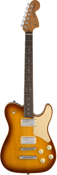 FENDER TROUBLEMAKER TELECASTER RW ICED TEA BURST