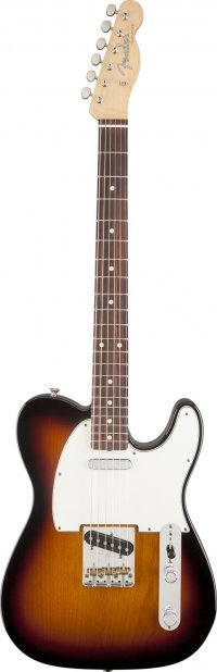 FENDER TELECASTER MEXICAN CLASSIC PLAYER BAJA 60'S SUNBURST