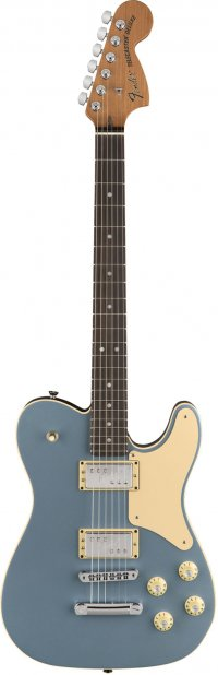 FENDER TROUBLEMAKER TELECASTER RW ICED BLUE METALLIC