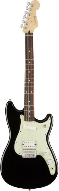 FENDER DUO-SONIC HS PF BLACK