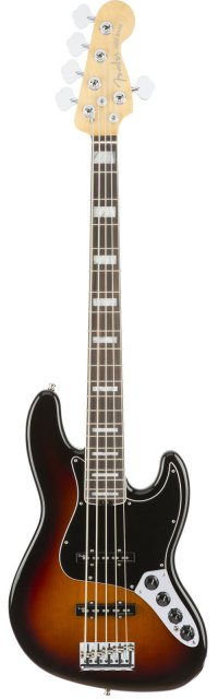 FENDER AMERICAN ELITE JAZZ BASS V EB TOBACCO SUNBURST