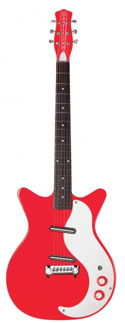 DANELECTRO 59 MODIFIED NEW OLD STOCK RED