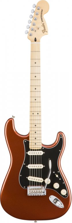 FENDER MEXICAN DELUXE ROADHOUSE STRATOCASTER MN CLASSIC COPPER