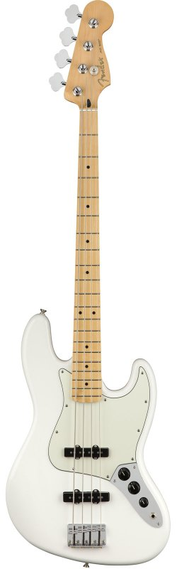 FENDER JAZZ BASS MEXICAN PLAYER  POLAR WHITE